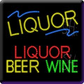 Alcohol LED Signs
