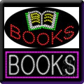 Books LED Signs