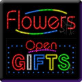 Flowers & Gifts LED Signs