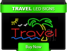 Travel LED Signs